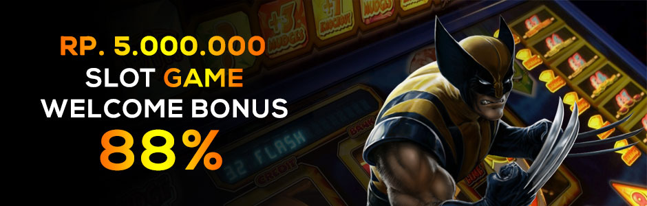 Rp.5.000.000 Slot Game Welcome Bonus 88% Bisa Withdrawal Kapanpun (SBOBET dan MAXBET)