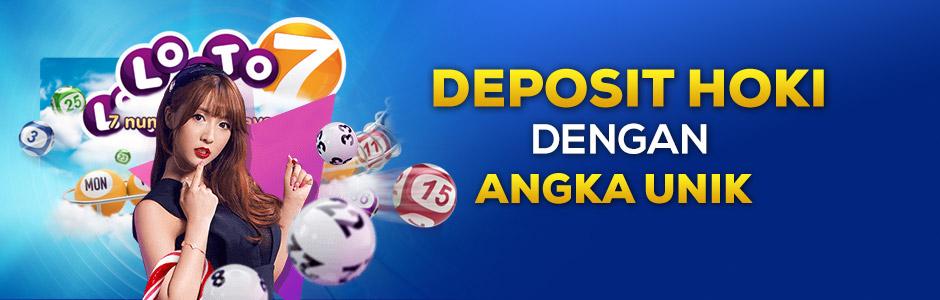 Promo Deposit Hoki Dengan Angka Unik